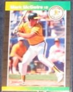 1989 Donruss Mark McGwire #95 Athletics