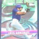 2002 Topps Own the Game Luis Gonzalez #OG3 Diamondbacks