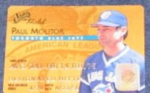 1995 Studio Gold Paul Molitor #10 Blue Jays
