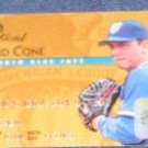 1995 Studio Gold David Cone #33 Blue Jays