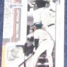 2001 Fleer Game Time Albert Belle #54 Orioles