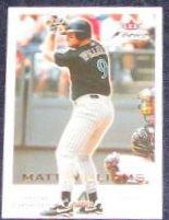 2001 Fleer Focus Matt Williams #124 Diamondbacks