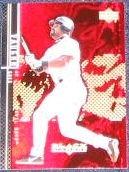 2000 UD Black Diamond Greg Vaughn #11 Devil Rays