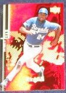 2000 UD Black Diamond Jermaine Dye #27 Royals
