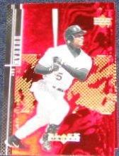 2000 UD Black Diamond Ray Durham #38 White Sox