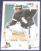 2001 Fleer Focus Frank Thomas #53 White Sox