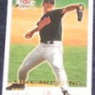 2001 Fleer Focus Mike Mussina #50 Yankees
