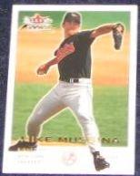 2001 Fleer Focus Mike Mussina #50 Yankees