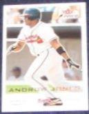 2001 Fleer Focus Andruw Jones #136 Braves