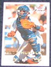 2001 Fleer Focus Todd Hundley #27 Dodgers