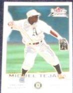 2001 Fleer Focus Miguel Tejada #80 Athletics