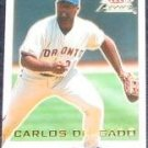 2001 Fleer Focus Carlos Delgado #137 Blue Jays