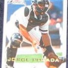2001 Fleer Focus Jorge Posada #159 Yankees