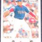 2001 Fleer Focus Kenny Rogers #177 Rangers
