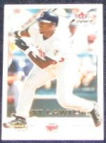 2001 Fleer Focus Matt Lawton #153 Twins