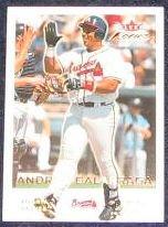 2001 Fleer Focus Andres Galarraga #168 Braves