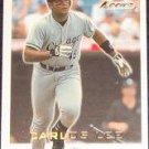 2001 Fleer Focus Carlos Lee #174 White Sox