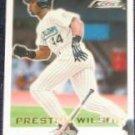 2001 Fleer Focus Preston Wilson #200 Marlins