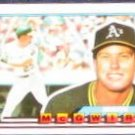1989 Topps Big Mark McGwire #34 Athletics