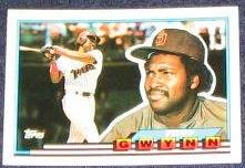 1989 Topps Big Tony Gwynn #58 Padres