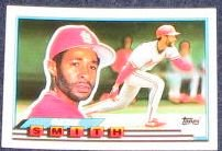 1989 Topps Big Ozzie Smith #110 Cardinals