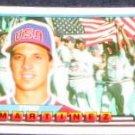 1989 Topps Big Tino Martinez #93 Mariners