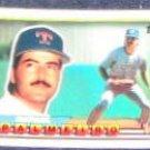 1989 Topps Big Rafael Palmeiro #257 Rangers