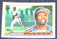 1989 Topps Big Mookie Wilson #231 Mets
