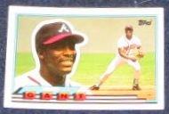 1989 Topps Big Ron Gant #43 Braves