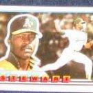1989 Topps Big Dave Stewart #101 Athletics