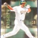 2001 UD Reserve Big Game Jason Giambi #BG7 Athletics