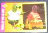 1993 UD Fun Pack Phillie Phantic Mascot #1 Phillies