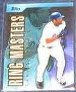 2002 Topps Ring Masters Gary Sheffield #RM4 Dodgers