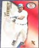 2001 Fleer eX Carl Everett #97 Red Sox