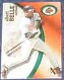2001 Fleer eX Albert Belle #82 Orioles