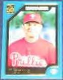 2001 Topps Traded Manager Larry Bowa #T146 Phillies
