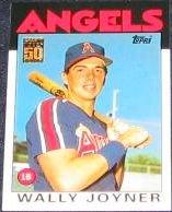 2001 Topps Traded Wally Joyner #51T Angels