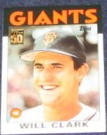 2001 Topps Traded Will Clark #24T Giants