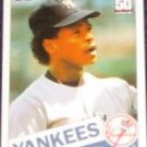 2001 Topps Traded Rickey Henderson #49T Yankees