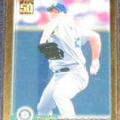 2001 Topps Gold Brett Tomko #'d1587/2001 Mariners