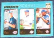 2001 Topps Prospects Wilson/Peavey/Cubillan #728