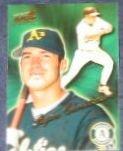 1999 Pacific Aurora Ryan Christenson #134 Athletics