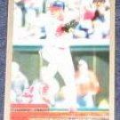 2000 Topps David Justice #66 Indians