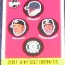 2001 Upper Deck Vintage Rookies #342 Athletics