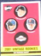 2001 Upper Deck Vintage Rookies #363 Giants