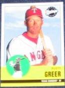 2001 Upper Deck Vintage Rusty Greer #84 Rangers