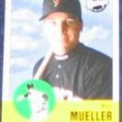 2001 Upper Deck Vintage Bill Mueller #260 Giants