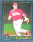 2001 Topps Traded Chrome Jimmy Rollins #T66 Phillies