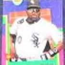 93 UD Fun Pk Tim Raines #201 White Sox
