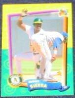 94 UD Fun Pk Ruben Sierra #141 Athletics
